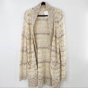 Anthropologie Thread & Supply open style cardigan